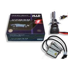 Акция на Комплект биксенона Infolight H4 H/L 4300K 35W от Allo UA