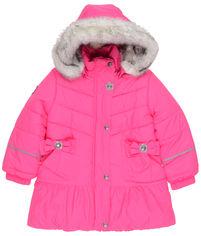 Акция на Зимнее пальто Lenne Alice 19333/267 140 см Малиновое (4741578402877) от Rozetka