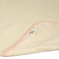 Акция на Двусторонняя непромокаемая пеленка Эко Пупс Jersey Classic желтая 65х90 см от Podushka