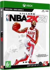 Акция на Игра NBA 2K21 для Xbox One (Blu-ray диск, Russian version) от Rozetka