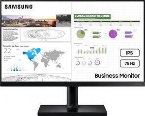 """Акция на Монитор 27"""" Samsung LF27T450 Black (LF27T450FQIXCI) от Rozetka"""