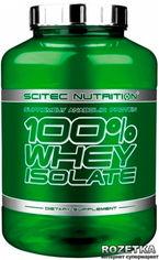 Акция на Протеин Scitec Nutrition 100% Whey Isolate 2000 г Vanilla (5999100007642) от Rozetka