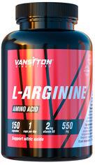 Акция на Аминокислота Vansiton Аргинин 150 капсул (4820106590085) от Rozetka