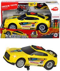 Акция на Скоростной автомобиль Dickie Toys Ниссан с функцией езды на задних колесах 25.5 см (3764010) от Rozetka