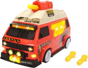"""Акция на Автомобиль Dickie Toys """"Кемпер"""" с функцией стрельбы, со звуком и световыми эффектами 28 см (3756004) от Rozetka"""