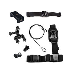 Акция на Набор креплений AIRON ACS-6 на велосипед для экшн-камер GoPro, AIRON, SONY, ACME, Xiaomi, SJCam, EKEN, ThiEYE от Allo UA