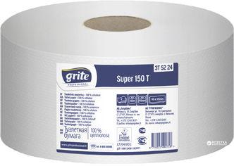 Акция на Туалетная бумага Grite Super 476 отрывов 2 слоя 12 рулонов (4770023350630А) от Rozetka