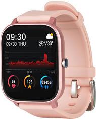 Акция на Смарт-часы Globex Smart Watch Me Pink от Rozetka
