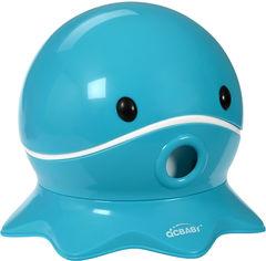 Акция на Детский горшок Same Toy QCBaby Осьминог Бирюзовый (QC9906turquoice) от Rozetka