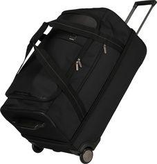 Акция на Дорожная сумка на колесах Titan Ti391602-01 Черный от Rozetka
