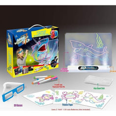 Акция на Магическая Проекционная 3D доска для рисования Magic Drawing Board YM 381 от Allo UA
