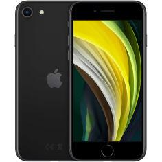 Акция на Смартфон APPLE iPhone SE 128GB Black (MHGT3) (без адаптера) от Foxtrot