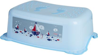 Акция на Подставка Maltex с резинками Океан Голубая (5903067001056) от Rozetka