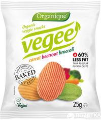Акция на Упаковка чипсов картофельных McLloyd`s Vegee С овощами органические 25 г х 10 шт (8588000526871_8588000526895) от Rozetka