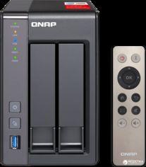 Акция на QNAP TS-251+-2G от Rozetka