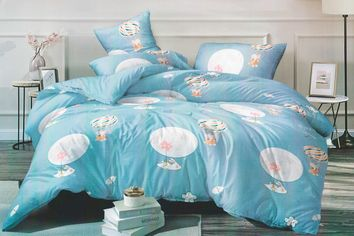 Акция на Комплект постельного белья MirSon Сатин 22-1190 Praia 175х210 см (2200002306126) от Rozetka