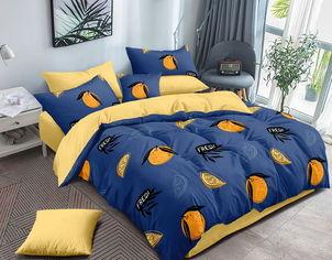 Акция на Комплект постельного белья MirSon Сатин Premium 22-1195 Baku 143х210 см (2200002307352) от Rozetka