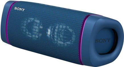 Акция на Акустическая система Sony SRS-XB33 Extra Bass Blue (SRSXB33L.RU2) от Rozetka