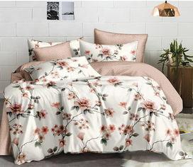 Акция на Комплект постельного белья MirSon Сатин Premium 22-1206 Birch 143х210 см (2200002334204) от Rozetka