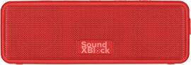 Акция на Акустическая система 2E SoundXBlock TWS, MP3, Wireless, Waterproof Red (2E-BSSXBWRD) от Rozetka