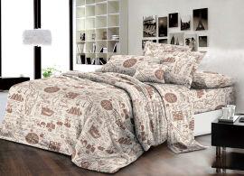 Акция на Комплект постельного белья MirSon Бязь 17-0285 Tallinn 175х210 см (2200002313094) от Rozetka