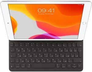 """Акция на Обложка-клавиатура Apple для Apple iPad 10.2""""/iPad Air 10.5"""" русская раскладка Black (MX3L2RS/A) от Rozetka"""