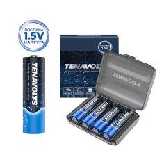 Акция на Аккумулятор Tenavolts Lithium AA 1.5В 1850 мА·ч 4 шт в пластиковом боксе (191763001134) от Rozetka