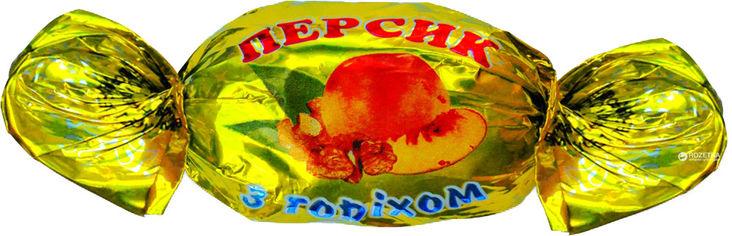 Акция на Конфеты Аметист Плюс Персик с орехом 1 кг (4820148610130) от Rozetka