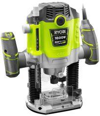 Акция на Фрезер Ryobi электрический RRT1600P-K, 1600Вт, ход фрезы 55 мм, 10000-26000 об / мин от MOYO