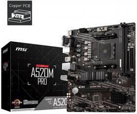 Акция на Материнcкая плата MSI PRIME A520M-A от MOYO