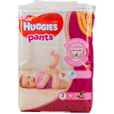 Акция на Подгузники для девочек Huggies Pants 3, 58 шт. от Allo UA
