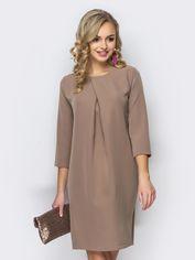 Акция на Платье Dressa 11105 48 Бежевое (2000000616308_D) от Rozetka