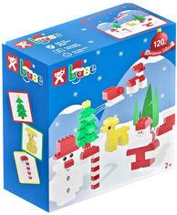 Акция на Набор конструктора Nobi Base Christmas Edition 120 деталей (40.02.120.000) (5999887891229) от Rozetka