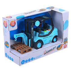 Акция на Машинка-грузоподъемник One Two Fun Forklift от Allo UA