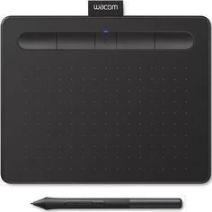 Акция на Wacom Intuos S Bluetooth Black (CTL-4100WLK-N) от Stylus