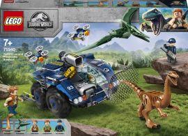 Акция на Конструктор LEGO Jurassic World Побег галлимимуса и птеранодона (75940) от Будинок іграшок