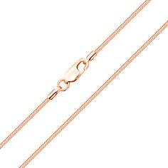Акция на Цепочка из красного золота, 1,5 мм 000104267 60 размера от Zlato