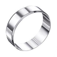 Акция на Обручальное кольцо из белого золота 000006383 15.5 размера от Zlato