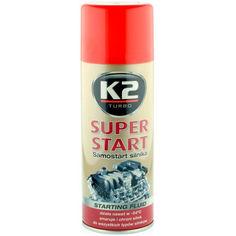 Акция на Для облегчения запуска двигателя K2 SUPER START 400ml (T440) от Allo UA