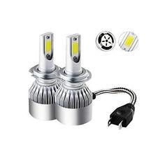 Акция на Комплект LED ламп ближний и дальний свет C6 HeadLight H4 12v 2шт от Allo UA