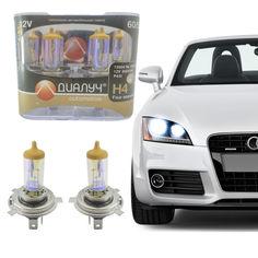 Акция на Лампы H-4 12 Вольт 60/55 Ватт P43T. Лампы с эффектом ксенона Cool Blue Intense + 30% Kvarc-404 от Allo UA