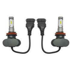 Акция на Светодиодные лампы Н-11. LED лампы H-11 (H8/H9/H16) 6000K 4000Lm. Тип охлаждения - радиатор. Пр-во Корея от Allo UA