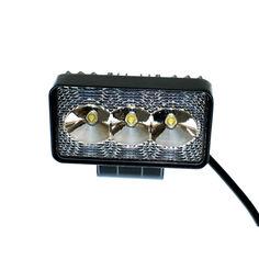 Акция на Светодиодная фара AllLight 09type9W 3chip EPISTAR spot 9-30V от Allo UA