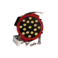 Акция на Светодиодная фара AllLight 51W RED 17chip OSRAM 3535 spot 9-30V от Allo UA