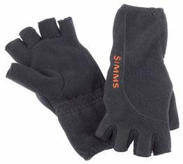 Акция на Мужские митенки Simms Headwaters Half Finger Glove Black черные M (12480-001-30) от Stylus