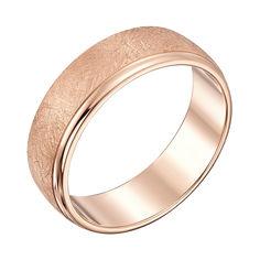 Акция на Обручальное кольцо из красного золота 000039202 18 размера от Zlato