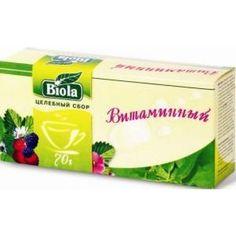 Акция на Чай Витаминный Биола 50 гр от Medmagazin