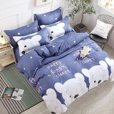 Акция на Комплект постельного белья MirSon Бязь 17-0310 Winnie Семейный 160x220 см (2200002357609) от Rozetka