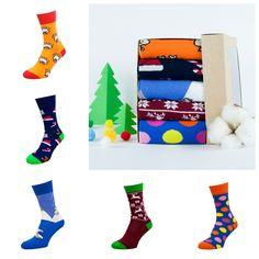 Акция на Набор носков The Pair of Socks New Year V2 5110 35-37 5 пар Разноцветный (4820234214341) от Rozetka