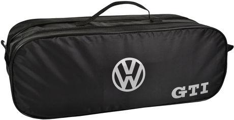 Акция на Сумка-органайзер в багажник Фольцвагнен Джей те черная размер 50 х 18 х 18 см (03-103-2Д) от Rozetka